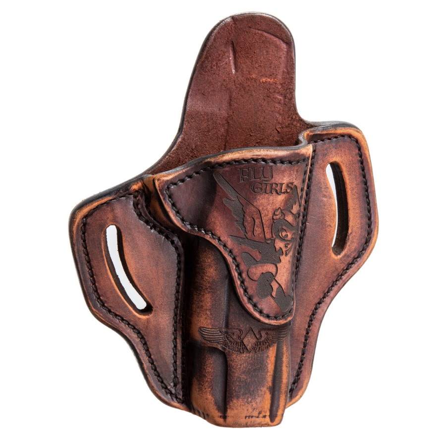 1911 OWB Leather Holster, Fly Girls