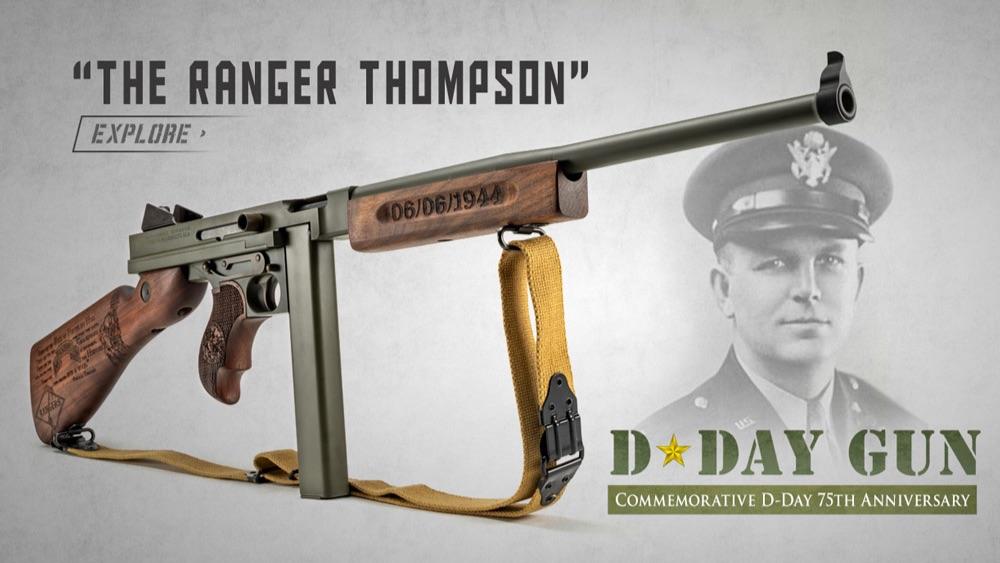 D-Day Gun: The Ranger Thompson