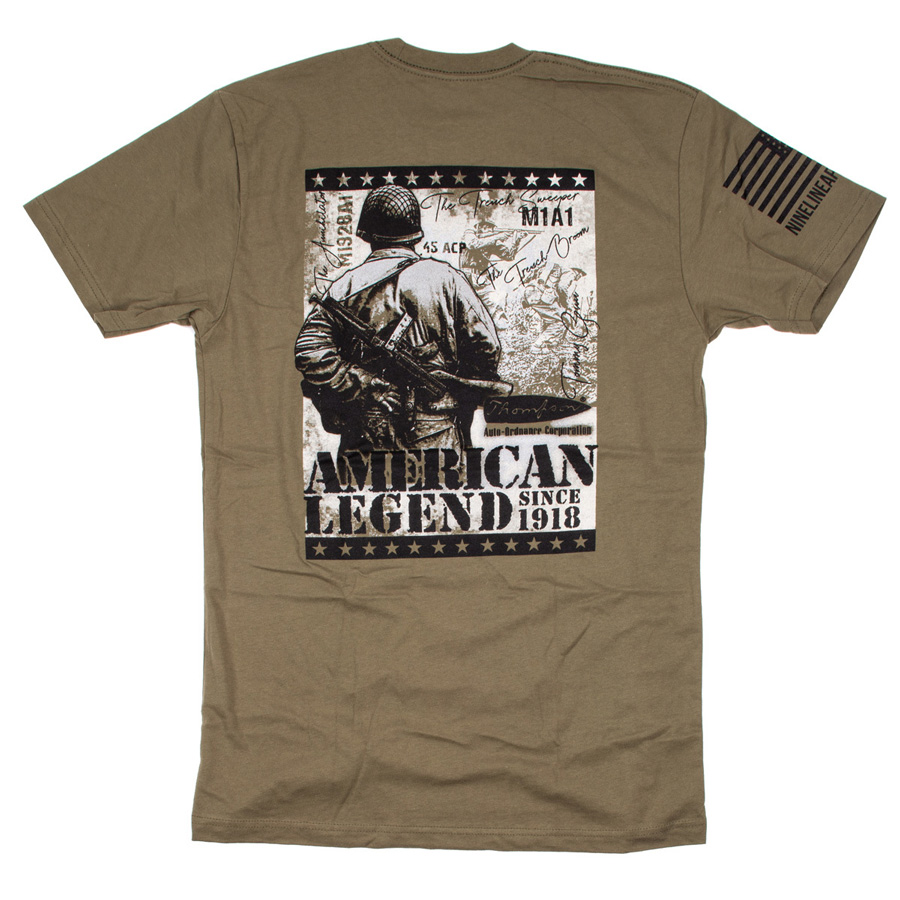 Thompson American Legend M1A1 T-Shirt