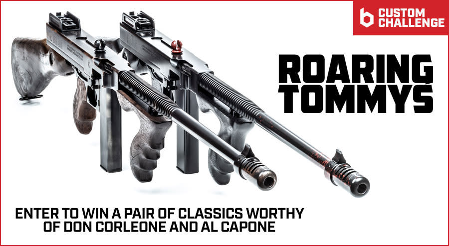 GIVEAWAY: Win a Pair of Custom Auto-Ordnance Thompson 1927-A1s