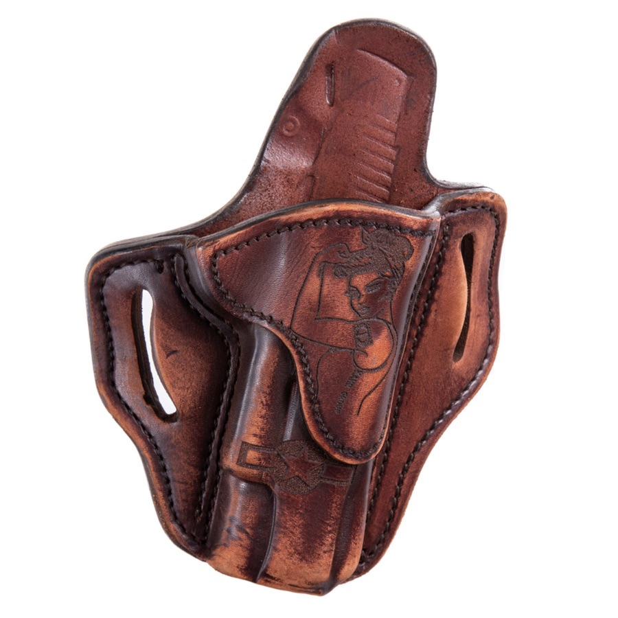 1911 OWB Leather Holster w/ Victory Girls