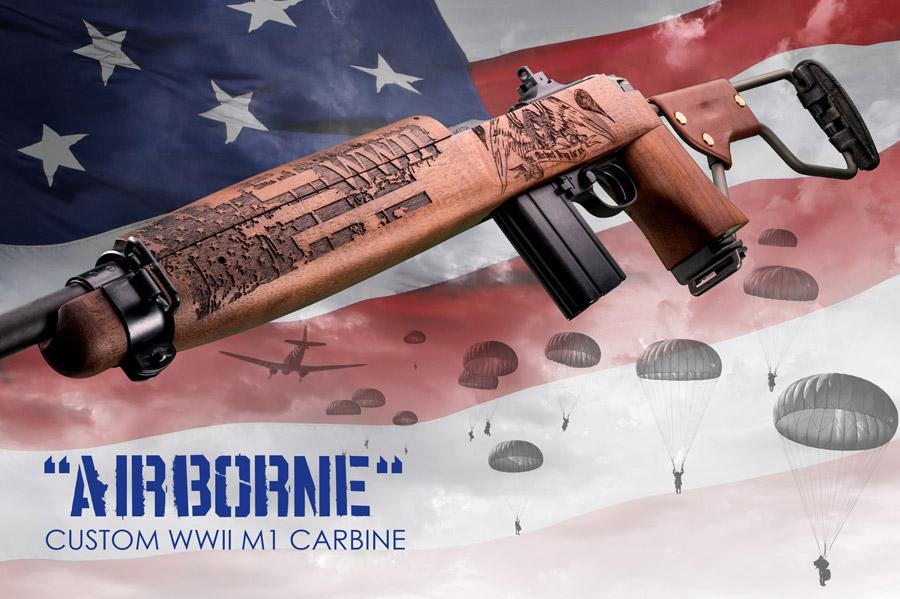 "Auto-Ordnance Introduces ""Airborne"" M1 Carbine"