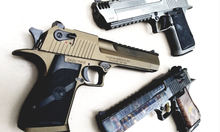 Three Desert Eagle handguns you have to see in action