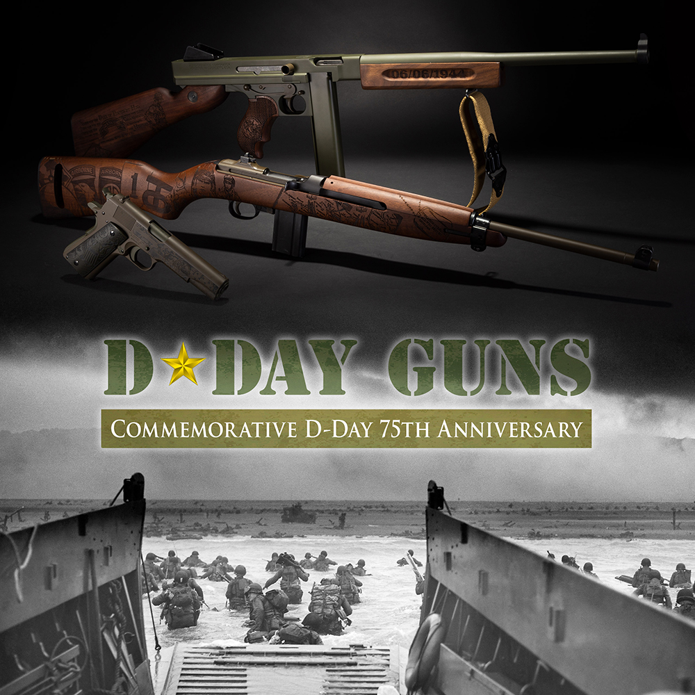 Thompson Auto-Ordnance Introduces Limited Edition D-Day Series