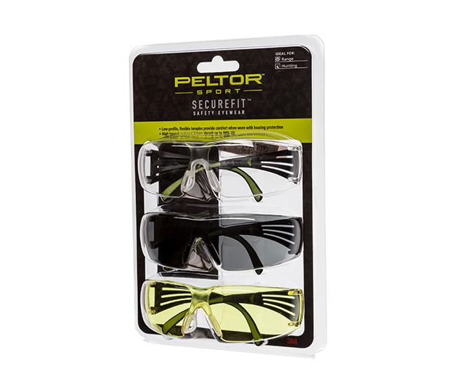 Peltor 400 Eye Protection, 3 Pack