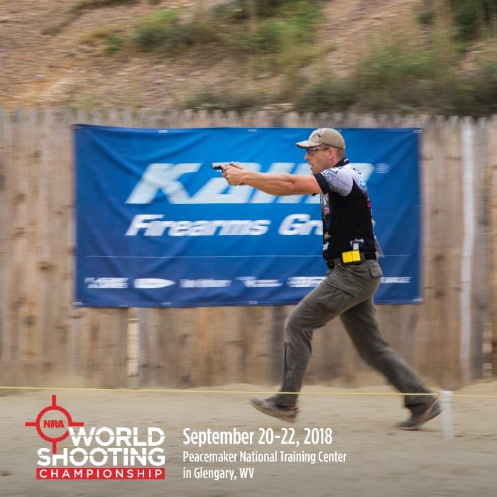 NRA World Shooting Championship: September 20-22, 2018