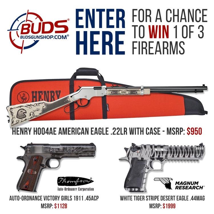 BudsGunShop.com Sturgis 2019 3-Gun Giveaway!