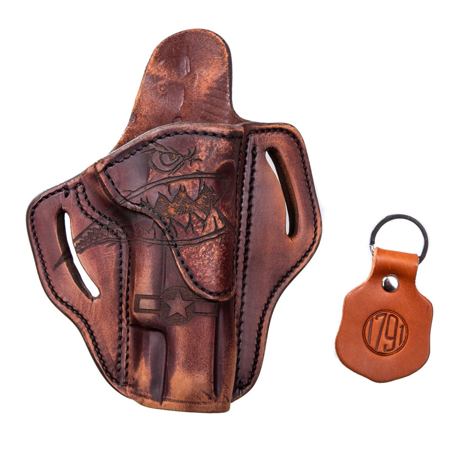 1911 OWB Leather Holster, Squadron