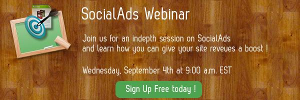 SocialAds Webinar @CloudAccess !