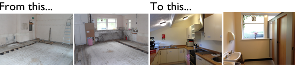 Ribchester Village Hall Phase 2 (Part 1) Renovations