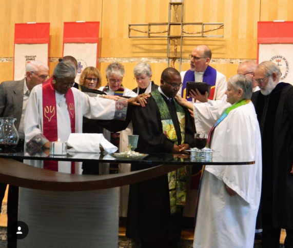 Rev. Dr. Marcus Leathers Installed As New Co-Pastor Of United Christian Parish, Reston, Virginia Sunday, September 16