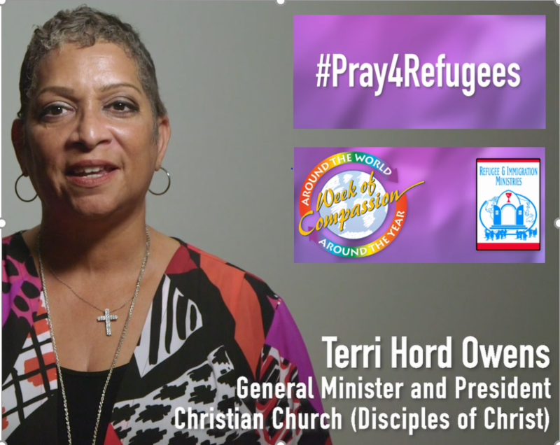 Terri Hord Owens, Gen. Min. & President, Christian Church (Disciples of Christ)