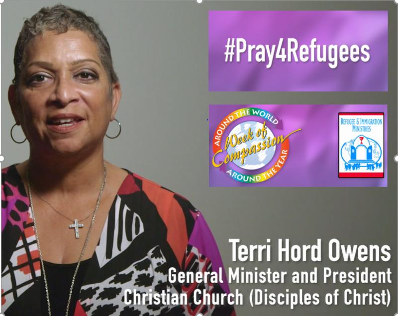 Terri Hord Owens, Gen. Min. & President, Christian Church (Disciples of Christ)
