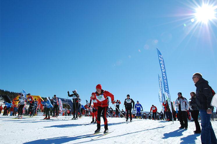 image: Sumavsky ski marathon