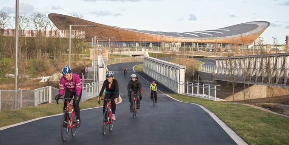 Cycling the Olympic circuit