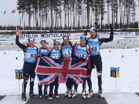 Masters Biathlon team Kontiolahti