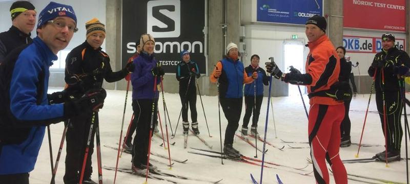 LRNSC at the Oberhof Ski Hall [S Tucker]