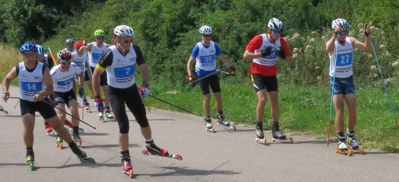 LRNSC 1hr FT roller ski race