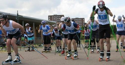 LRNSC roller ski race