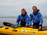 Kayakers Olly Hicks & Patrick Winterton