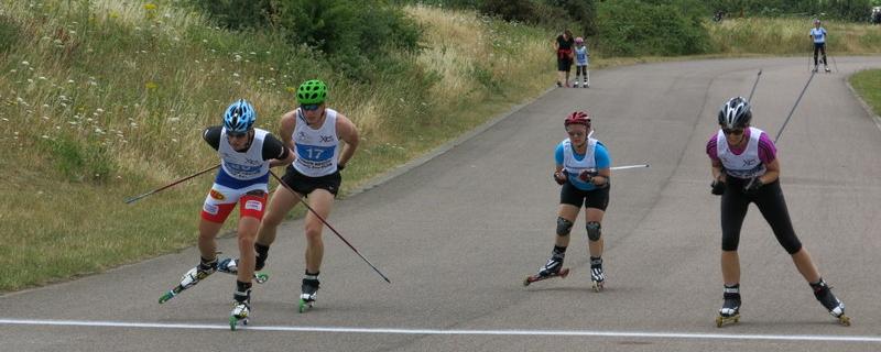 image: LRNSC 1hr roller ski race