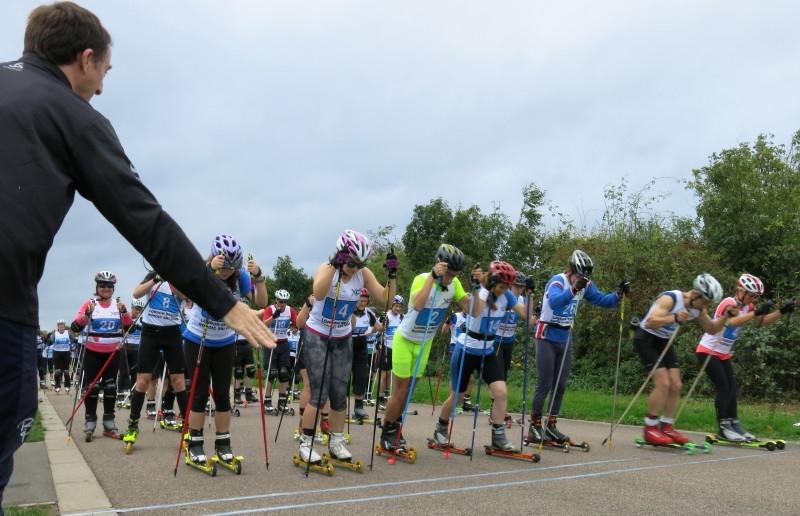 12/7 roller ski race