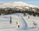 Skiing at Kvitavatn