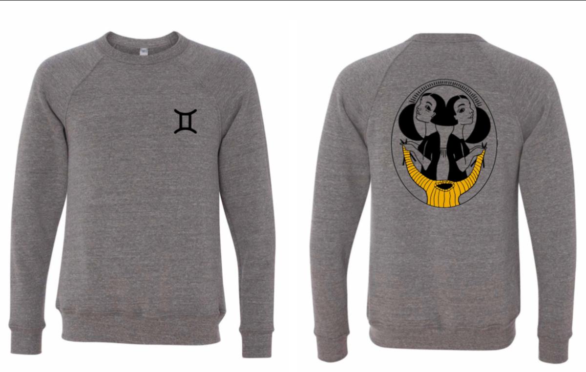 Gemini Zodiac Sweatshirt