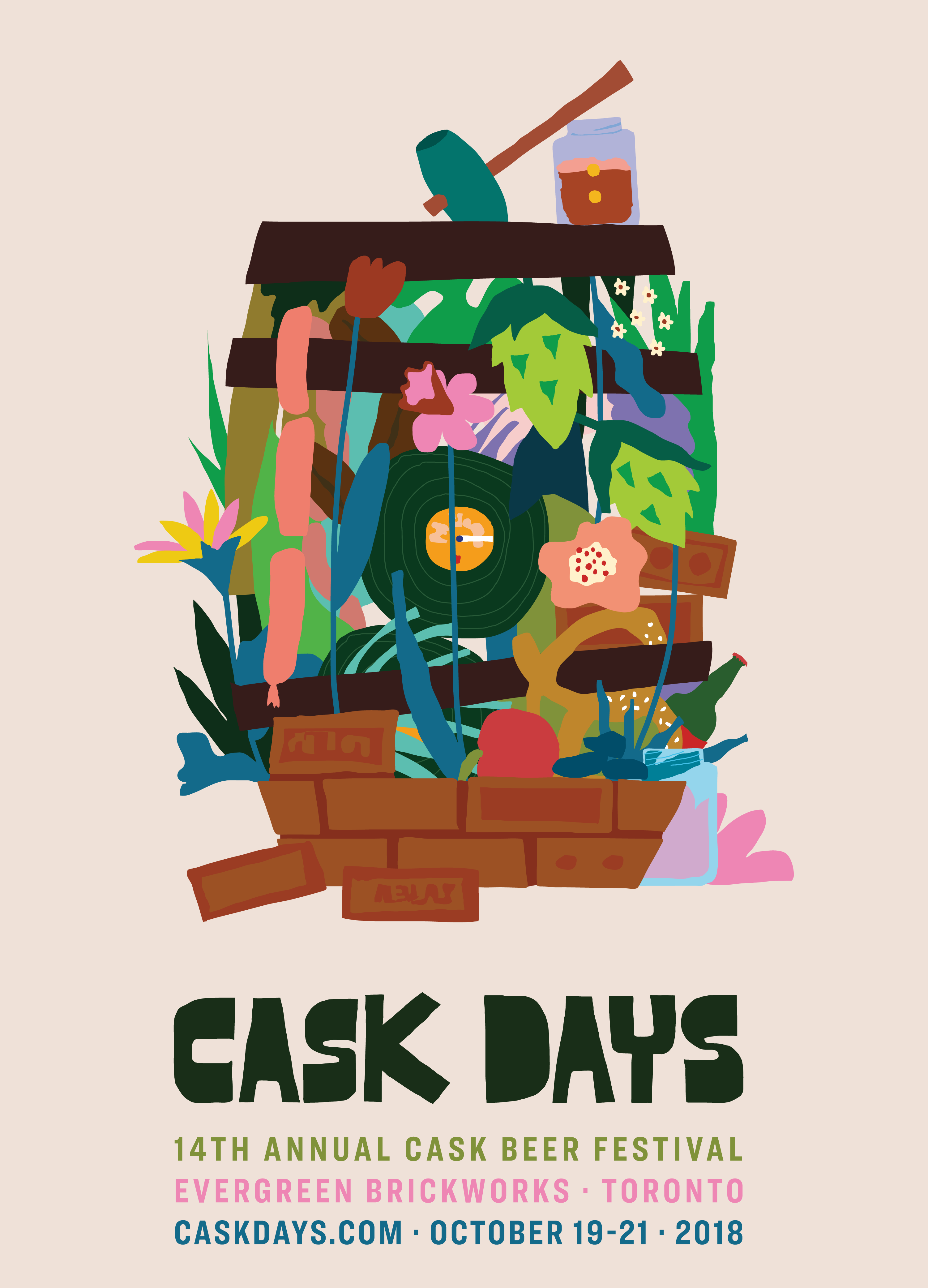 Cask Days 2018 Poster