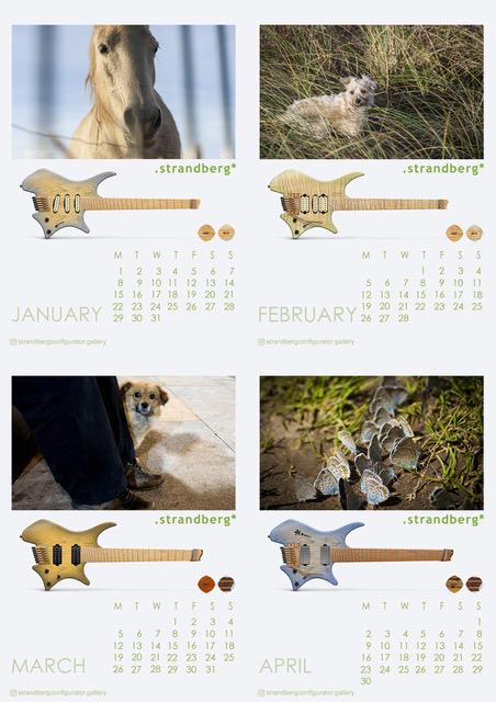Strandberg Calendar