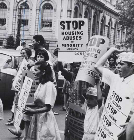 NYC Demonstration on fair housing in 1963