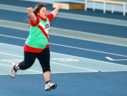 Athlete - finish line