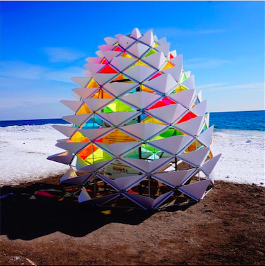 Winter Stations installation in Toronto