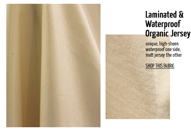 Offset Warehouse Ethical Fabric Laminated & Waterproof Organic Jersey