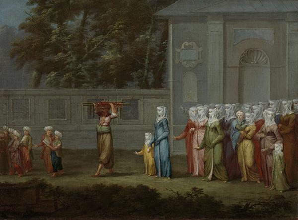 Image: The First Day of School, Jean Baptiste Vanmour, c.1720 - c.1737. © Rijksmuseum.