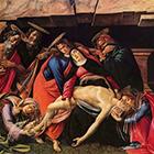 Passion of Christ, Sandro Botticelli, circa 1500.