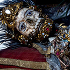 Relics of St Valerius, Weyarn, Germany. ©Paul Koudounaris, Heavenly Bodies: Cult Treasures and Spectacular Saints from the Catacombs  (London: Thames and Hudson) 2013.