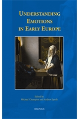 Understanding Emotions in Early Europe book cover