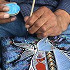 Indigenous painter