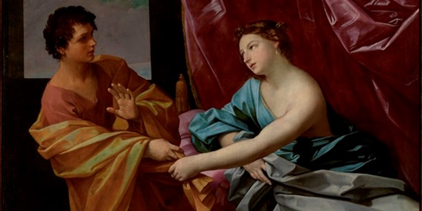 Guido Reni (Italian, 1575‒1642), Joseph and Potiphar's Wife, c.1630, The J. Paul Getty Museum, Los Angeles.