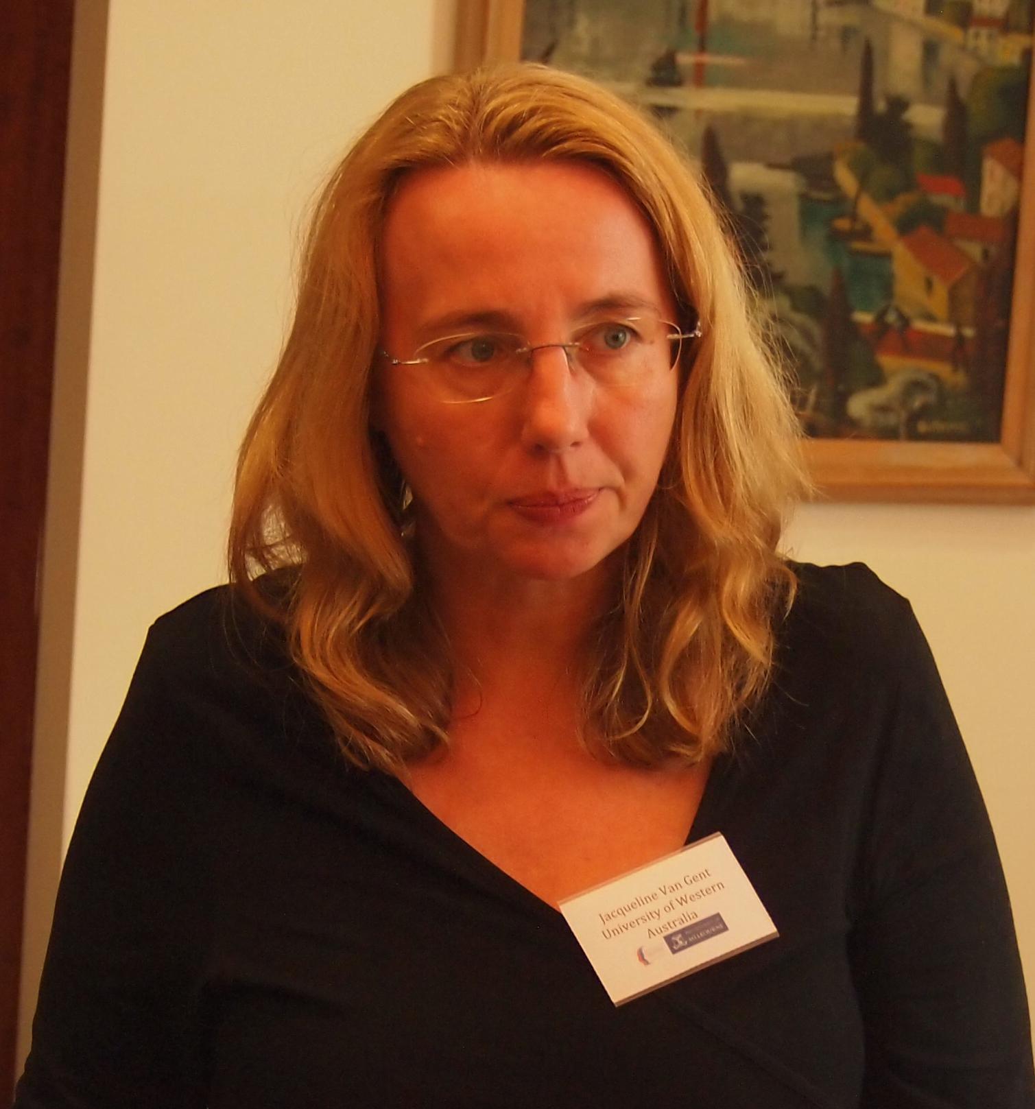Jacqueline Van Gent