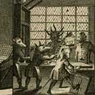 Image: The Art and Mystery of Printing Emblematically Displayed (1732). Copyright of the British Museum
