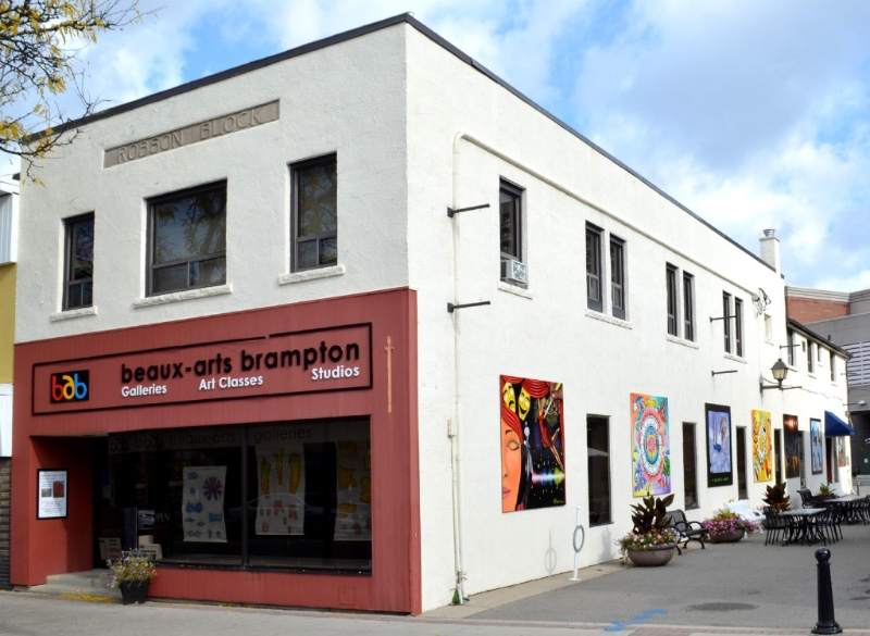 Storefront of Beaux-Arts Brampton