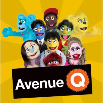 The Avenue Q puppets