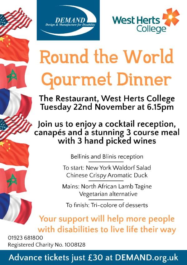 Gourmet Dinner poster