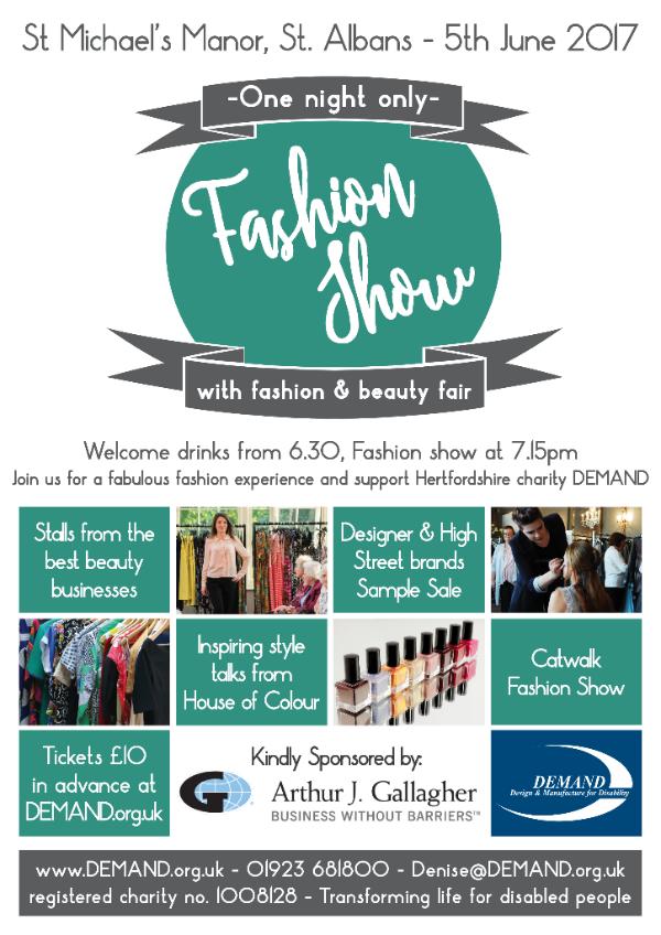FAB Fashion & Beauty fair poster