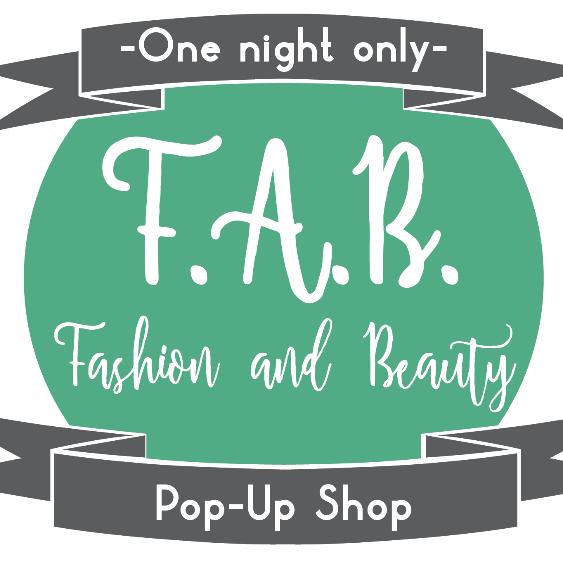 Fashion and Beauty pop-up shop logo