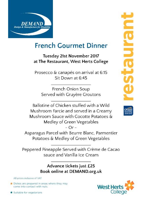 French Gourmet Dinner