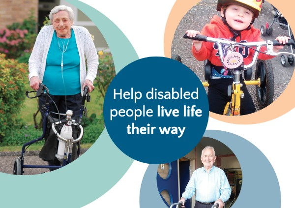 Help disabled people live life their way