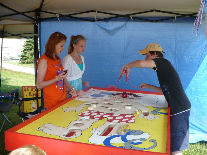 Mad Sasquatch Rocketry Giant Operation Game